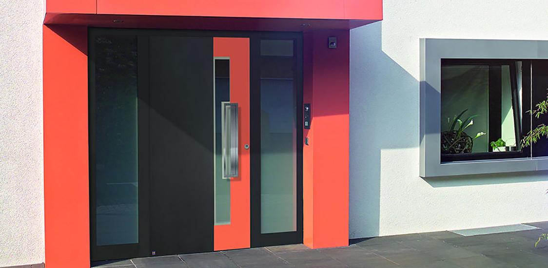 Bicolor La porta dal look personale