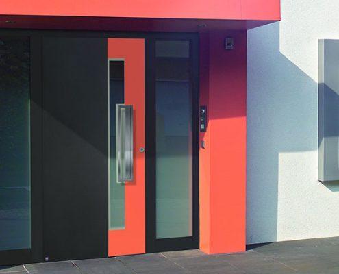 Porta d'ingresso bicolor