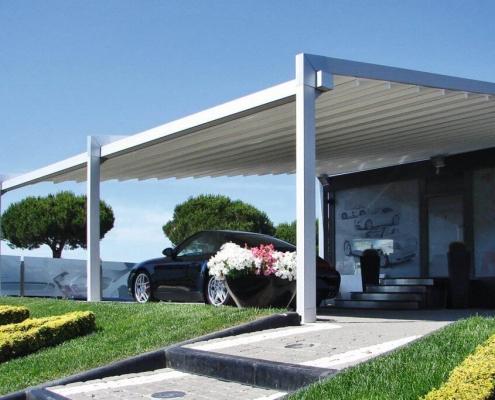 Pergole in alluminio Varese Pratic Biocasa Pasqualetti - 6